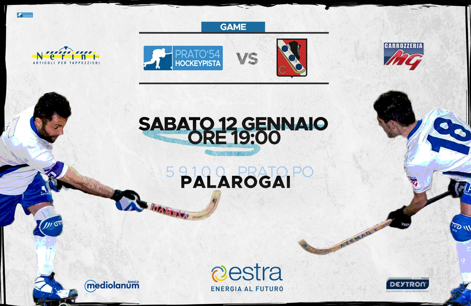 Hockey Prato vs Rotellistica Camaiore